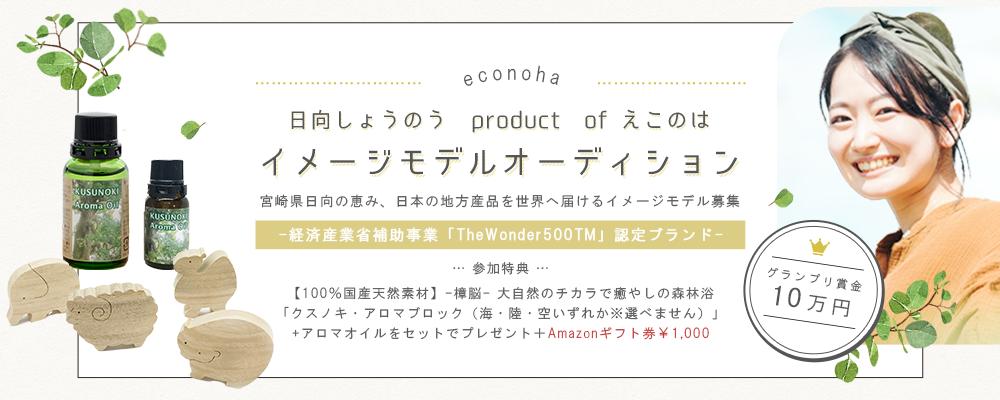 【企業案件】日向しょうのう produce of えこのはイメージモデルオーディション!